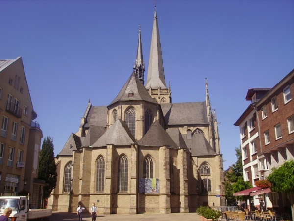 St. Willibrodi Cathedral in Wesel -Photo Credit: wikipedia.org