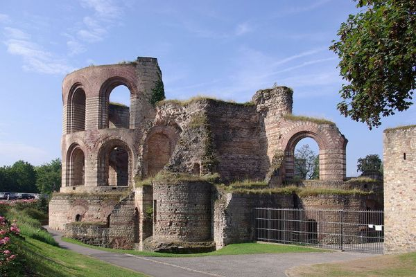 Roman Thermal Baths at Trier- Photo Credit: wikipedia.org