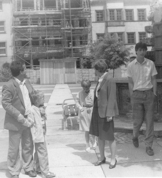 Onkel Walter ein paar Jahre vor der Wende (1986)