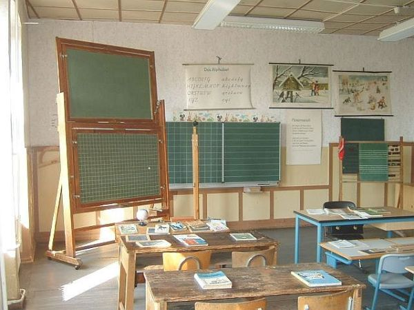 Old Fashioned Classroom of the 1930's