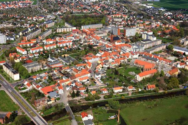 Arial Photo of Wolmirstedt - Photo Credit: wolmirstedt.de