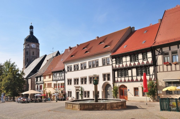 Sangerhausen in the Harz Mountains - Photo Credit: wikipedia.org