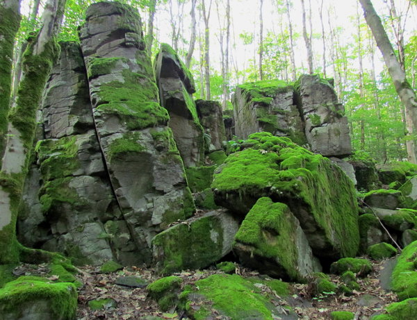 Incredible Rock Formations near the Top - Photo Credit: myheimat.de