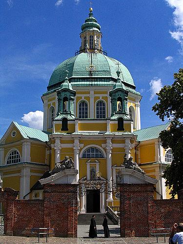 Church of Gostyn near Posnan