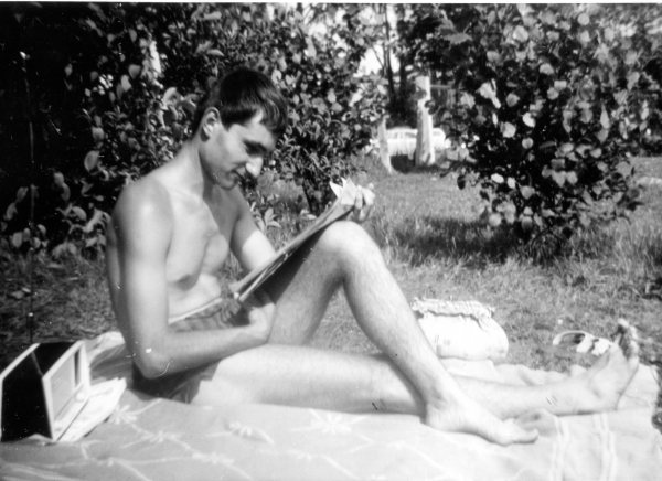 Reading and Relaxing - Summer of 1962