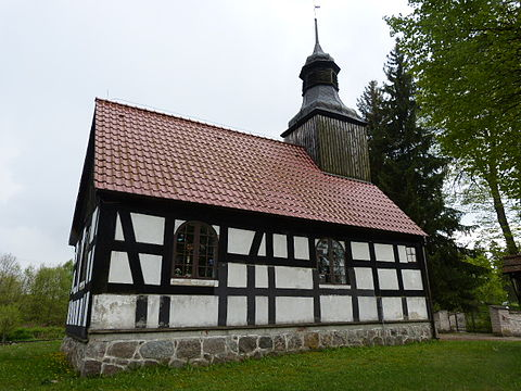 Church in Elsenau (Olszanowo)