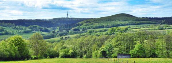 Landscape of Vogelsberg Hill Country - Photo Credit: vogelsbergtourist.de