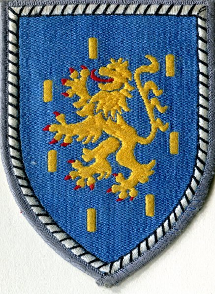 Crest of the Fifth Tank Division - German NATO forces in Koblenz
