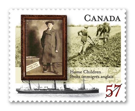 Home Children Stamp - Photo Credit: canadapost.ca