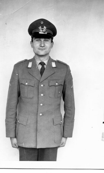 Peter as Civil Servant in Uniform 1963
