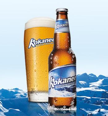 Popular Kokanee Beer