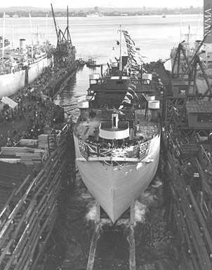 Vancouver Shipyards during WW2