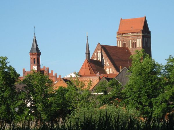 City Hall and Church at Perleberg - Photo Credit: wikipedia.org