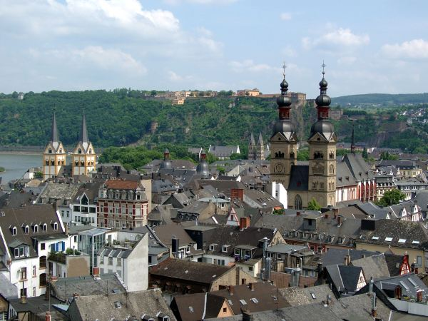 Old City Center of Koblenz - Photo Credit: wikipedia.org