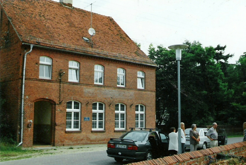 Die Lehrerwohnung in Quitzöbel 2003