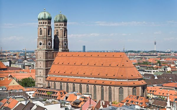 Frauenkirche, Munich, Bavaria - Photo Credit: wikipedia.org