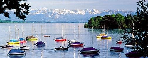 Beautiful Feldafing at Lake Starnberg - Photo Credit: bergfex.com
