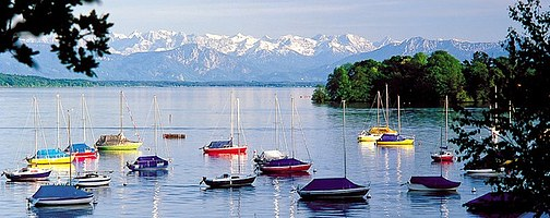 Beautiful Feldafing at Lake Starnberg - Photo Credit: bergfex.com