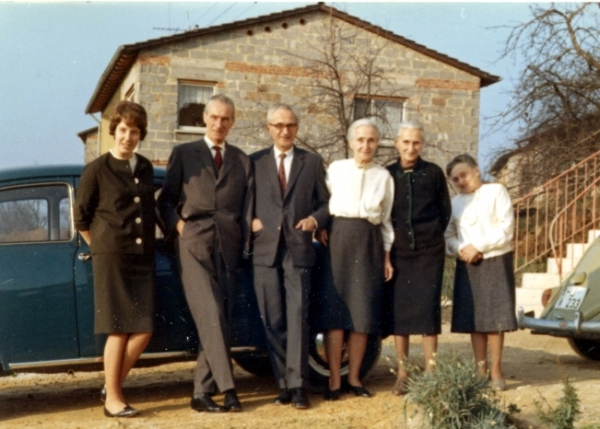 Kegler Family: Helga. Gerhard, Günther, my mother Erika Klopp, Marie and Lucie Kegler
