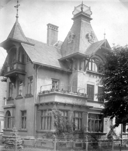 The House in Gotha - Biene's Birthplace
