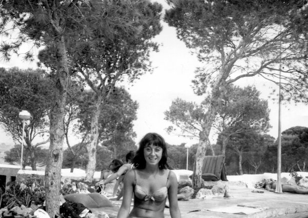 Biene on Vacation on Majorca Summer 1964