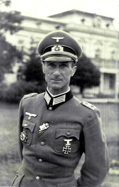 Generalleutnant Gerhard Kegler - Gutfelde 1944