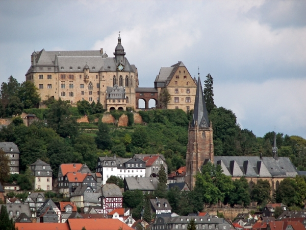 Marburg Castle - Photo Credit: wikipedia.org