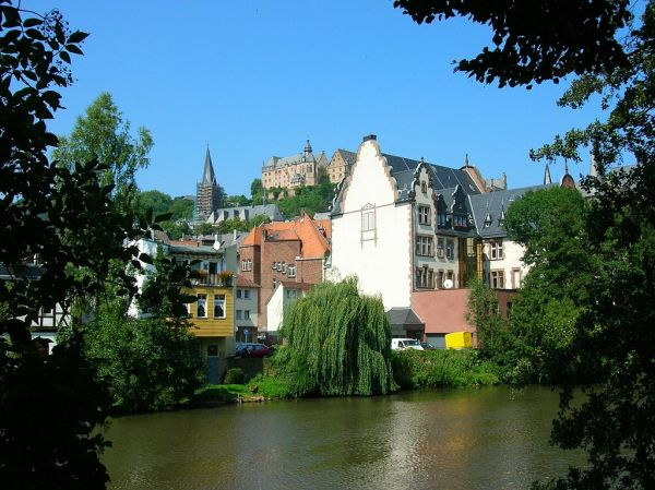 Marburg, Germany on the Lahn River - Photo Credit: wikipedia.org