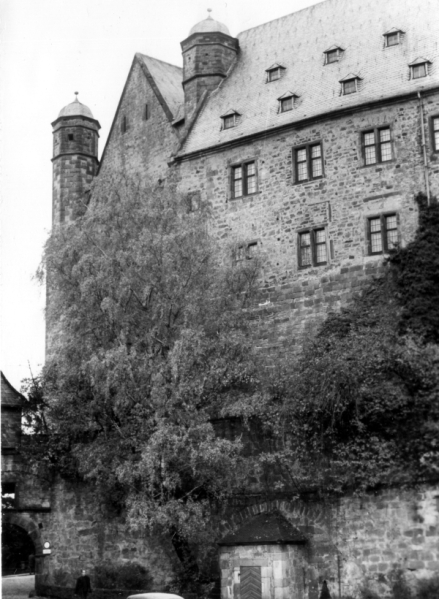 Marburg Castle - October 1964