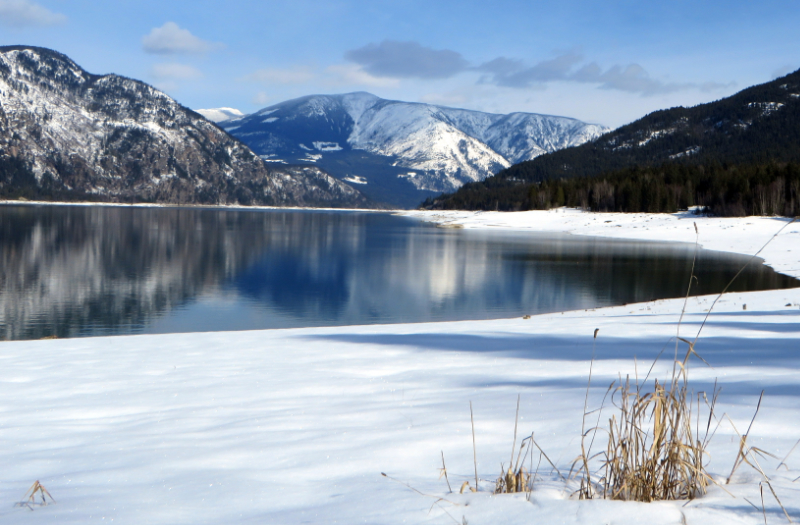 View across the Arrow Lake