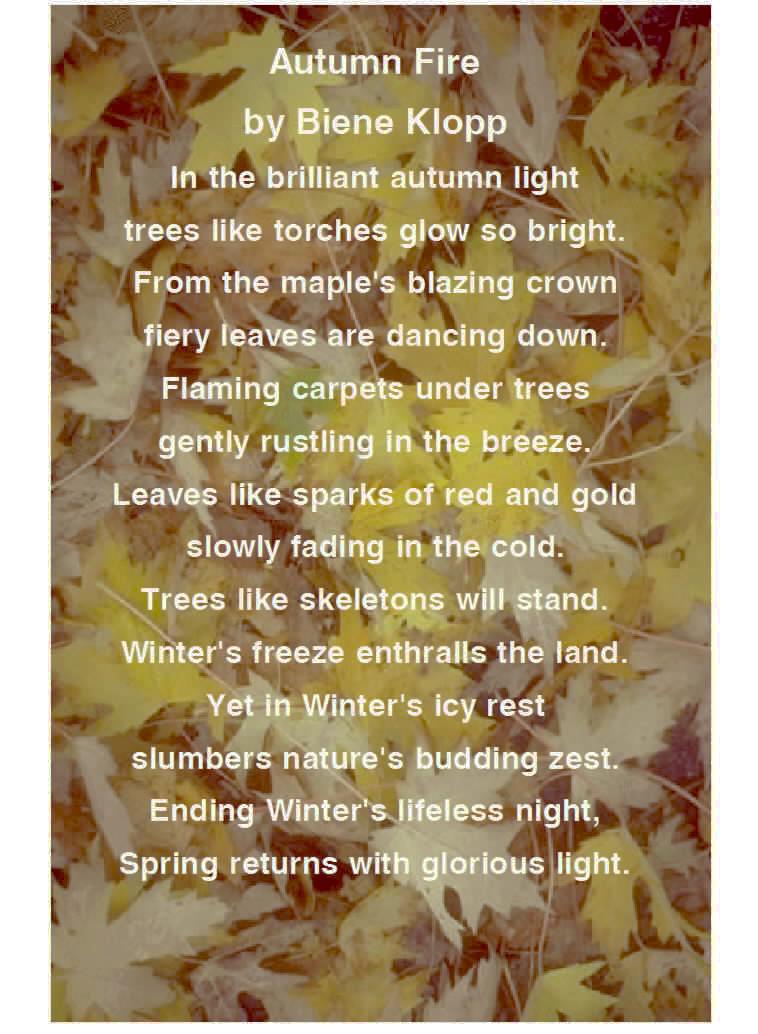 Fall Poem 2
